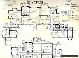 chateau floor plans chateau de noisy floor plans plans castles