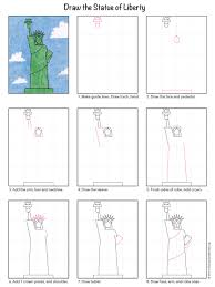 statue of liberty craft for kids home decorating interior