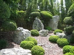 garden design with wonderful backyard with large rock garden