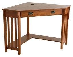 Buy Computer Desk by Sei Patterson Corner Computer Desk Brown Ho6641 Best Buy