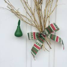 how to make partridge in a pear tree door decorations