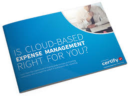 Cloud Based Expense Reporting by Ebook Is Cloud Based Expense Management Right For You
