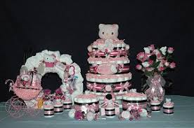 hello baby shower theme baby shower gift packages table centerpieces