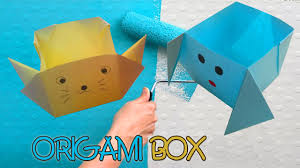Easy Origami Peacock - origami 3d gifts how to make 3d origami gifts part 296