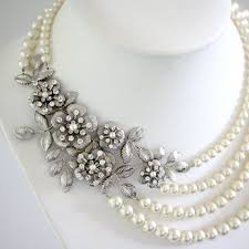 wedding necklace pearls images Best 25 wedding pearl necklaces ideas pearl jpg