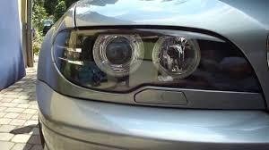 eye bmw headlights bmw e46 led eye upgrade xenon headlight with led signal