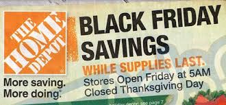 black friday deals for home depot home depot black friday deals 2013 tools appliances decorations