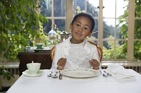 Kids Eating Table Ways To Teach Your Children Good Manners Tulsa Kids November