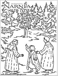 colouring pages narnia chronicles narnia coloring