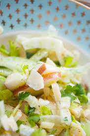 fennel apple and celery salad with love