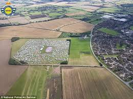 light and life church 3 000 travellers take over field for a christian festival daily