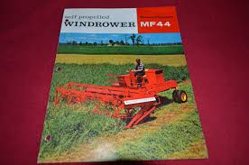massey ferguson 44 swather dealer u0027s brochure dcpa3 u2022 14 99 picclick