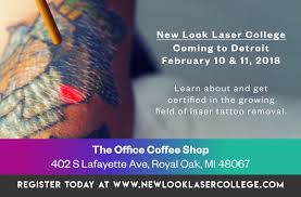 tattoo removal training and education news new look laser college