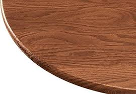 vinyl elasticized table cover amazon com wood grain vinyl elastic table cover home kitchen