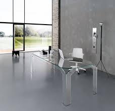 Glas Desk Modern Glass Desks For Home Office 2562