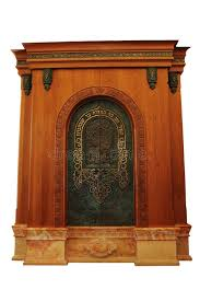 ornamental aron kodesh stock images image 14036764