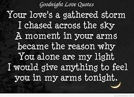 best goodnight quote message
