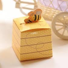 Wedding Candy Boxes Wholesale Wholesale 5cm European Creative Bee Candy Boxes Wedding Candy