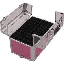 nail polish organizer storage box case 54 opi essie bottles