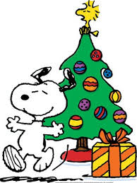 snoopy tree christmas snoopy and woodstock christmas tree decoration with