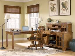 Corner Office Desk With Hutch Funiture Corner Office Desk Ideas Using Corner Brown Walnut