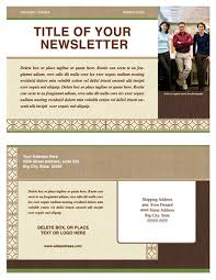 newsletter template newsletter templates ready made office