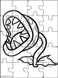 printable jigsaw puzzles cut kids mario bros 9 coloring
