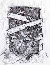 zombie pen sketch 3 26 2013 by myconius on deviantart