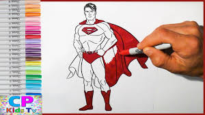 superman coloring pages kids superman coloring pages fun