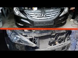2011 hyundai sonata front bumper removing front bumper on hyundai sonata 6 how to remove the