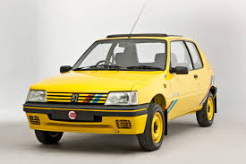 peugeot yellow peugeot 205 rallye best ever peugeot sport cars peugeot gti