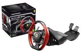458 italia thrustmaster thrustmaster 458 spider racing wheel xbox one amazon co