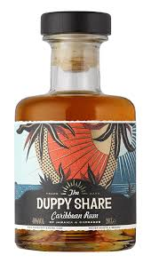 the duppy share golden caribbean rum 20 cl amazon co uk grocery