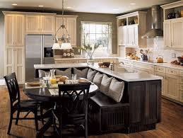 How To Design A Kitchen Island With Seating by Best 25 Kitchen Island Bar Ideas Only On Pinterest Kitchen