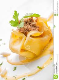 cuisine gourmet creative cuisine gourmet ravioli stock image image of