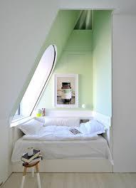 zimmer designen wohnung einrichten schlafzimmer schlafecke fenster vintage stil