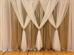 wedding backdrop tulle best 25 tulle wedding decorations ideas on tulle