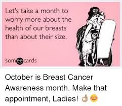 Breast Cancer Awareness Meme - 25 best memes about breast cancer awareness month breast