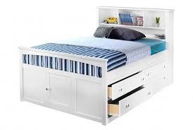 High Platform Beds Kids Full Size Headboard Bayfront Full Captains Bed Design With