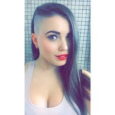 instagram pix of women shaved hair and waves 476 best side hair style images on pinterest short hairstyle