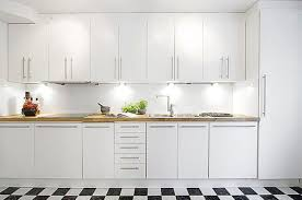 the contemporary white kitchen cabinets for your home combined
