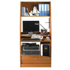 bureau secr aire informatique colonne informatique à rideau merisier taille l info univers du bureau