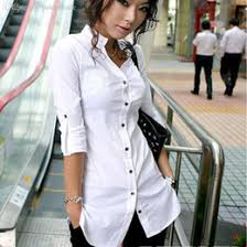 discount white button down shirts for women 2017 white button