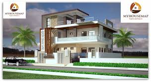 Modern Elevation Duplex House Elevation Design 38 37 Ft Latest