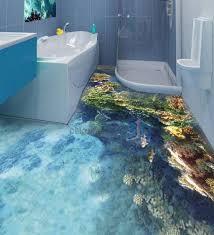 Unique Bathroom Floor Ideas Best 25 3d Floor Art Ideas On Pinterest 3d Flooring Floor Inside
