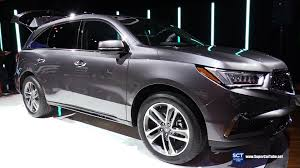 acura jeep 2017 acura mdx exterior and interior walkaround debut at 2016