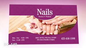 business card nails salon vietnamese salon printing youtube