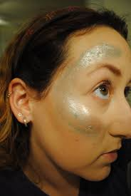 latex for halloween makeup mermaid halloween makeup the fleeing fawn