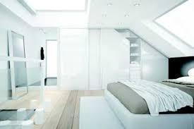 chambre parentale sous comble dressing laque blanc dans chambre parentale sous pente des idées