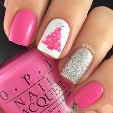 31 christmas nail art design ideas pink christmas and christmas